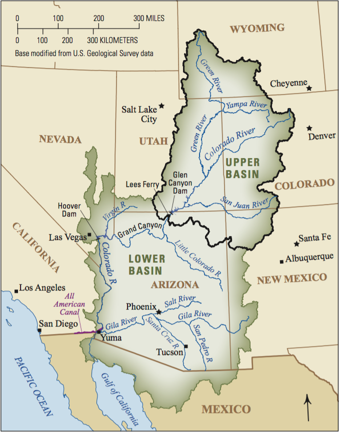 Upper and Lower Basins